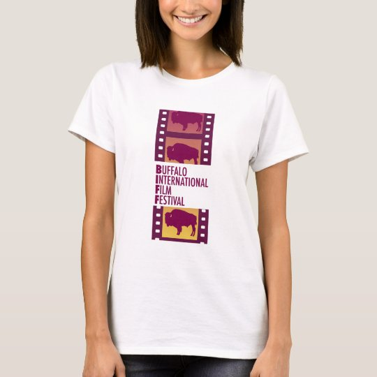 Buffalo International Film Fesival Logo Tee