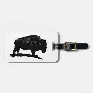 Buffalo Luggage Tag