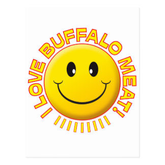 Buffalo Meat Smile Post Cards