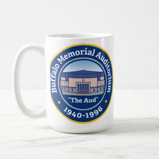 "Buffalo Memorial Auditorium ""The Aud"" Coffee Mug"