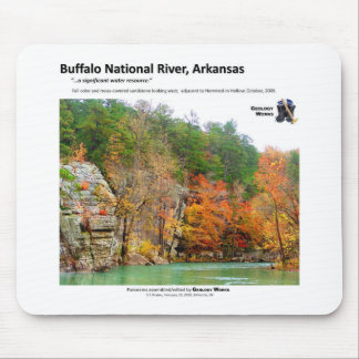 Buffalo National River II - Fall Colors 2009 Mouse Pad