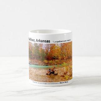 Buffalo National River III - Fall Colors 2009 Coffee Mug