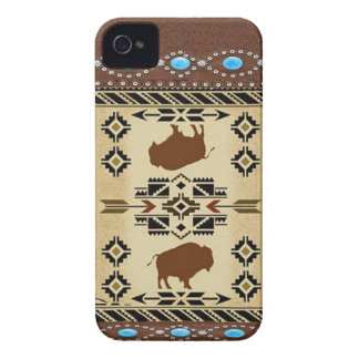 """Buffalo"" Native American IPhone 4S Case"