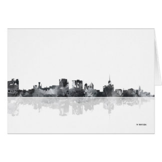 BUFFALO NEW YORK SKYLINE CARD