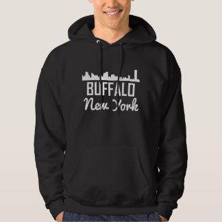 Buffalo New York Skyline Hoodie