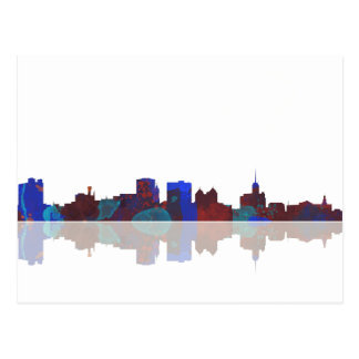 Buffalo New York skyline Postcard