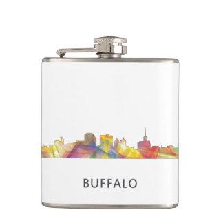 BUFFALO NEW YORK SKYLINE WB1 - FLASK