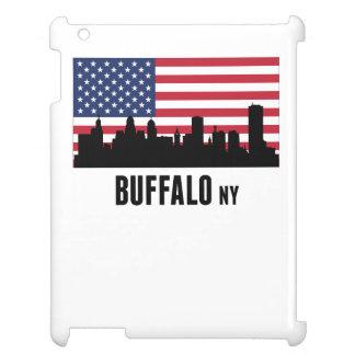 Buffalo NY American Flag Case For The iPad 2 3 4