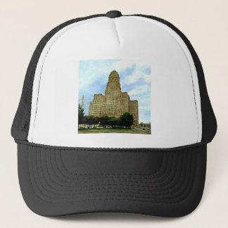 Buffalo NY city Hall Trucker Hat