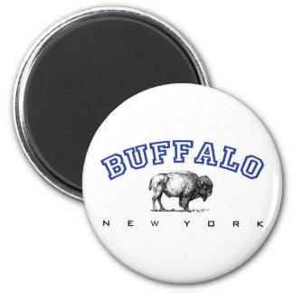 Buffalo NY 2 Inch Round Magnet