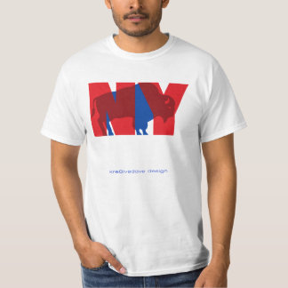 BUFFALO NY (red) T-Shirt