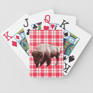 Buffalo Picnic Party Bicycle Playing Cards