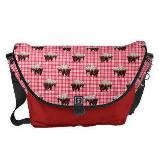 Buffalo Picnic Party Courier Bag