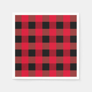 Buffalo plaid napkins disposable napkin