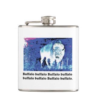 buffalo Posterization Flask