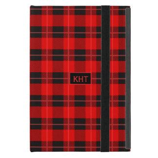 Buffalo Red & Black Plaid Geometric Pattern Cases For iPad Mini