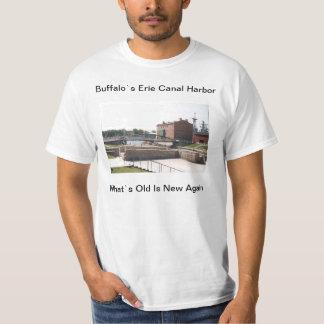 Buffalo`s Erie Canal Harbor T-Shirt