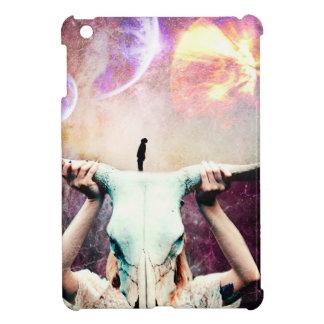 Buffalo Skull Space Cosmos Dream iPad Mini Covers