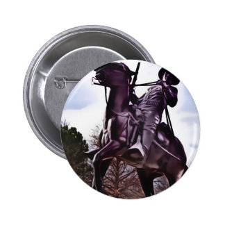 Buffalo Soldier Monument. 2 Inch Round Button