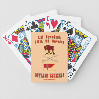 BUFFALO SOLDIERS BICYCLE PLAYING CARDS
