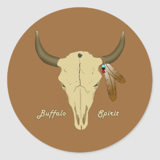 Buffalo Spirit Stickers