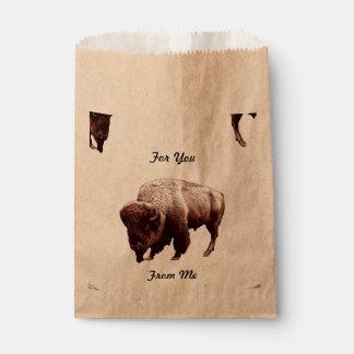 Buffalo Treats Favour Bag