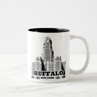 Buffalo Two-Tone Coffee Mug