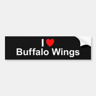 Buffalo Wings Bumper Sticker