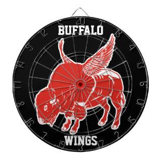 Buffalo Wings Dartboard With Darts