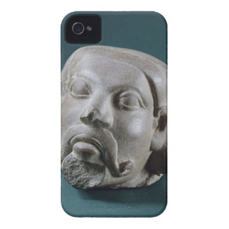 Buffed sandstone head of a foreigner, Sarnath, 3rd Case-Mate iPhone 4 Cases