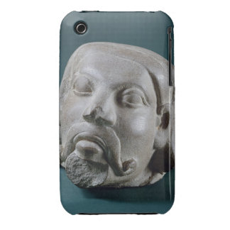Buffed sandstone head of a foreigner, Sarnath, 3rd iPhone 3 Covers