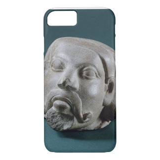 Buffed sandstone head of a foreigner, Sarnath, 3rd iPhone 7 Case