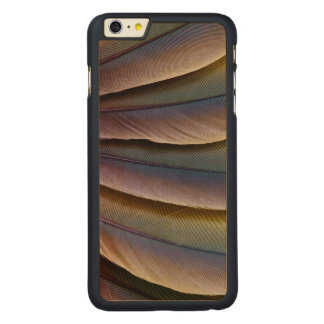 Buffon'S Macaw Feather Design Carved Maple iPhone 6 Plus Case