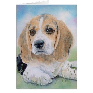 Buffy the Beagle Greeting Card