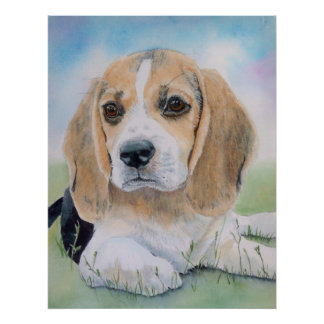 Buffy the Beagle Poster