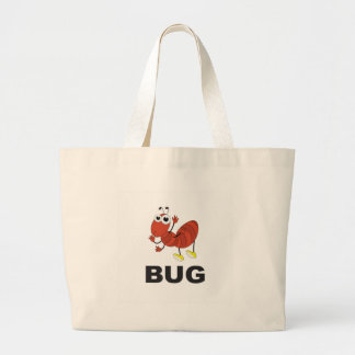 bug ant large tote bag