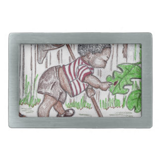 Bug Baby Rectangular Belt Buckle
