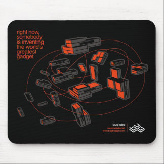 BUG Cloud Mousepad - black