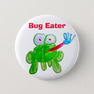 Bug Eater 2 Inch Round Button