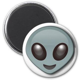 Bug Eyed Alien 2 Inch Round Magnet
