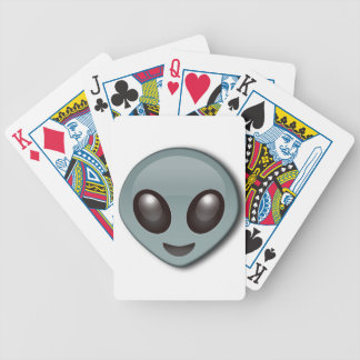 Bug Eyed Alien Bicycle Playing Cards