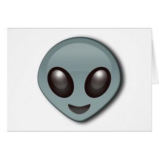 Bug Eyed Alien Card