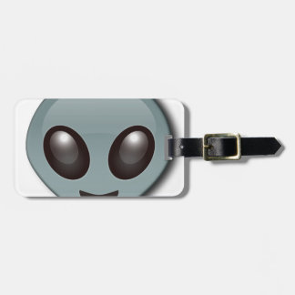 Bug Eyed Alien Luggage Tag