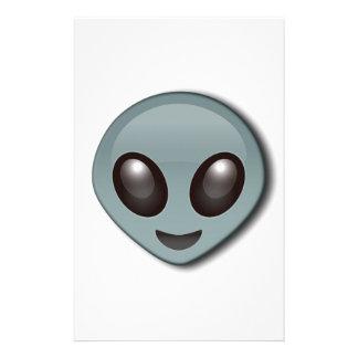 Bug Eyed Alien Stationery