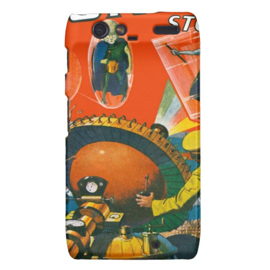 Bug Eyed Aliens in Capes Droid RAZR Cover