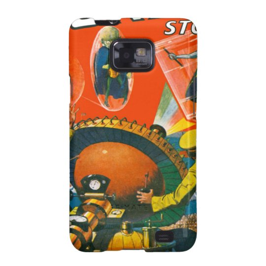 Bug Eyed Aliens in Capes Galaxy S2 Cover