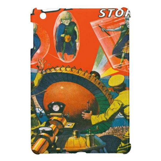 Bug Eyed Aliens in Capes iPad Mini Covers