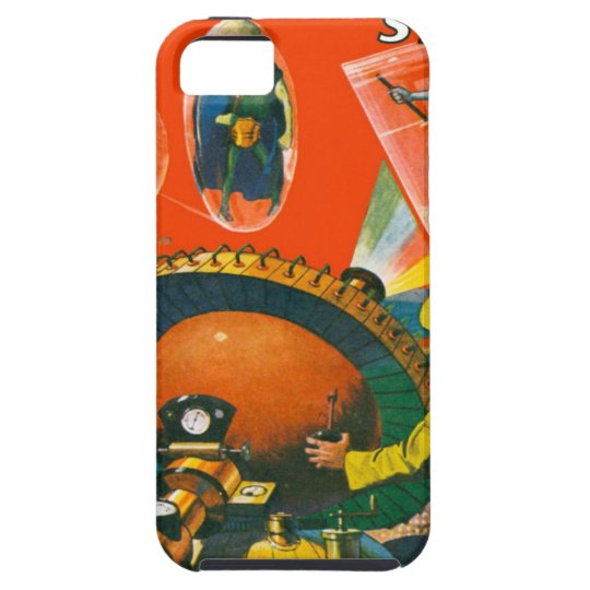 Bug Eyed Aliens in Capes iPhone 5 Covers