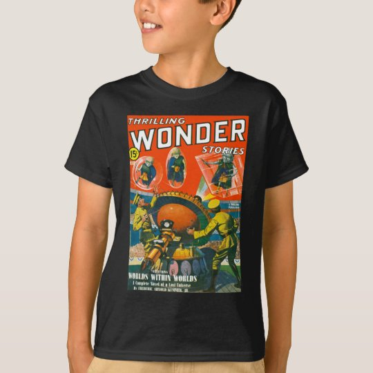 Bug Eyed Aliens in Capes T-Shirt