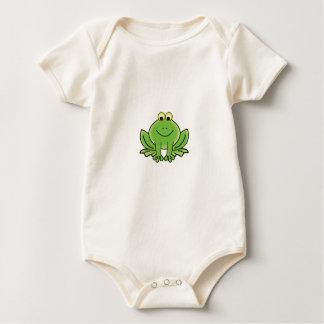 bug eyed frog baby bodysuit